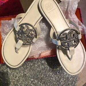 NEW!! Tory Burch Embellished Millers